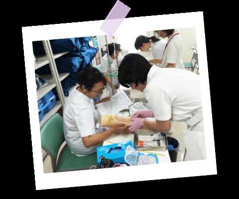 看護師 冬のシミュレーション研修